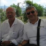 Sindaco di Cellole Aldo Izzo, Presidente Baia Felix Gennaro Guida