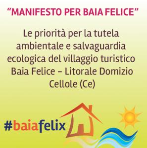 Manifesto per Baia Felice
