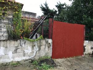 tetto crollato viale del giglio