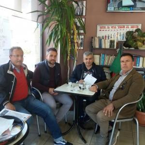 il Consigliere Franco Sorgente ed il Direttivo Baia Felix